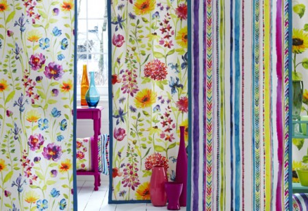 Floral fabrics to bring summer home