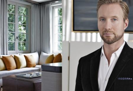 Take a peek inside this stylish home designed by Martin Brudnizki