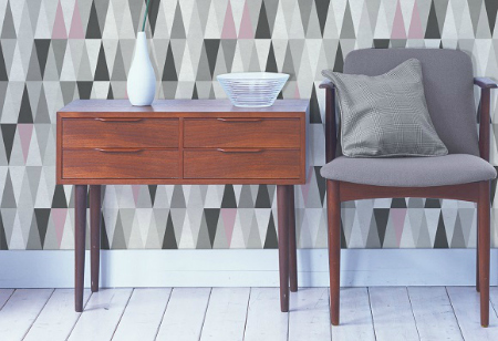 Find a new angle with geometric designs