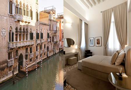 <b> House tour: </b>This Venetian apartment brings together a historic palace and fabulous interiors